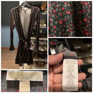 Authentic Michael Kors Wrap Dress