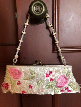 Beaded Ladies Sling Bag