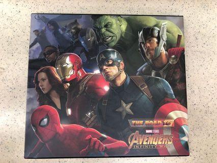 復仇者聯盟3 電影設定畫集The road to Avenger Infinity War