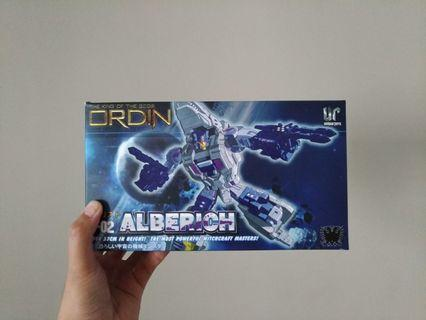 THE KING OF THE GODS ORDIN 0-02 ALBERICH UNIQUE TOYS ROBOT