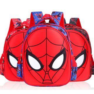 Preschool  Spiderman School Bags BackPack Preschoolers Boy School Bag
