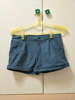 🚚 夏季藍色短褲