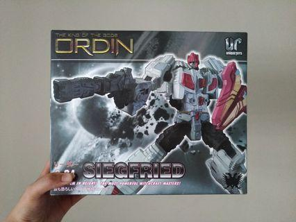 THE KING OF THE GODS ORDIN 0-04 SIEGFRIED UNIQUE TOYS ROBOT