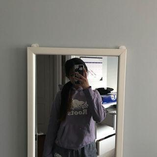 baby purple roots hoodie