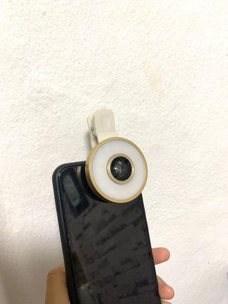 🚚 Chargeable fish eye lens