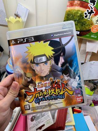 [PS3] Naruto 火影忍者 疾風伝 疾風傳 Ultimate Storm Generation