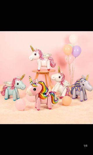 🚚 Unicorn balloons for Birthday Party Deco
