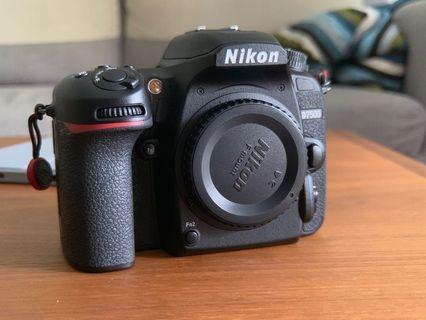 Nikon D7500 (camera body only with original box and accessories)