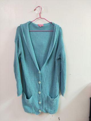 🚚 粉藍色外套