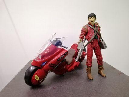 AKIRA 亞基拉figure連車 McFarlane玩具日本Spawn Robotech動漫二手(車只開盒拍照無 Display過)