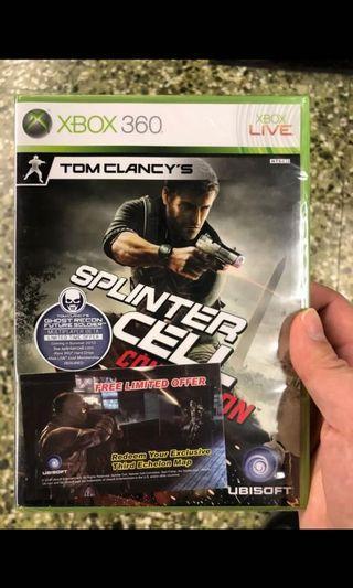 Xbox 360 New Tom Clancy
