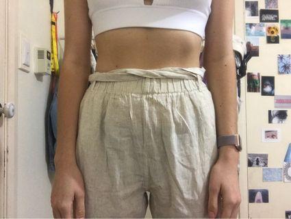 PLT linen pants