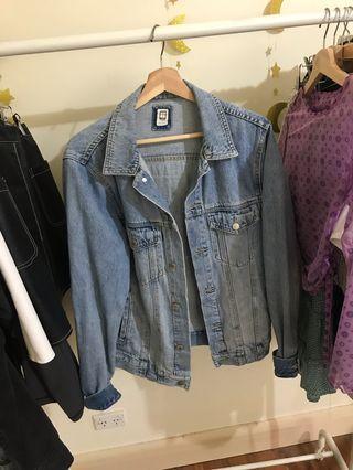 Insight denim jacket w/ patches