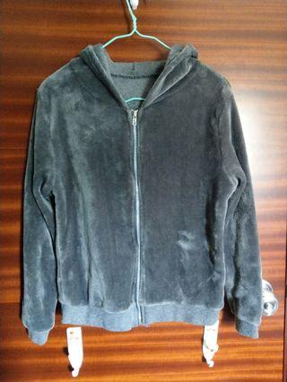 灰色毛毛外套 #MTRtw