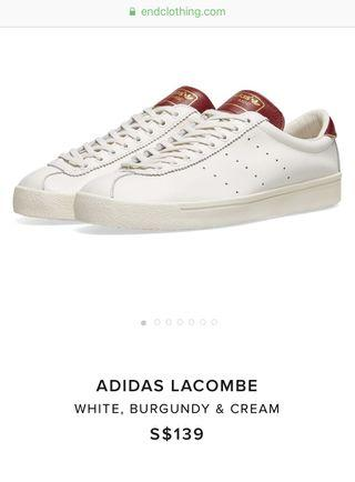 BN Adidas Lacombe Full leather sneaker