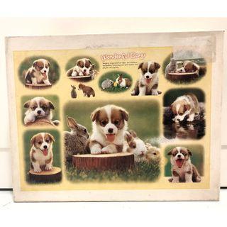 500 piece jigsaw puzzle (Wonderful Corgi)