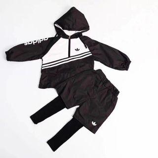 adidas 兒童運動套裝