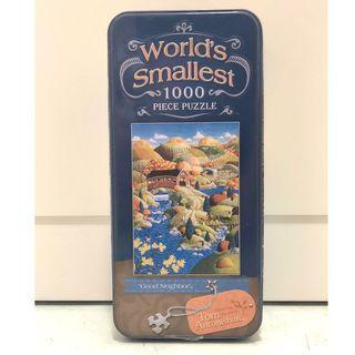 "World's Smallest Jigsaw Puzzle 1000 piece ""Good Neighbour"""