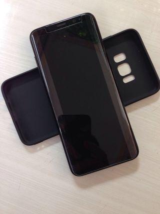 Jual Cepat Samsung S8 Black Ex Sein No Shadow