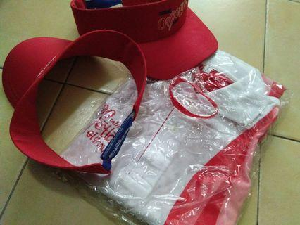 Nestle 100years Tshirt & cap collectable items