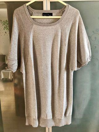 b+ab silver/grey top 銀灰上衣