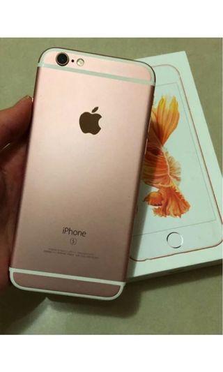 🚚 I phone 玫瑰金 64GB 4.7吋