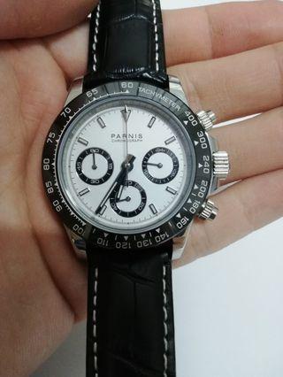 Parnis Daytona Chronograph Homage