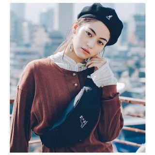 KANGOL×Ken Kagami 聯名品牌霹靂腰包特刊附黑色霹靂腰包跟貼紙