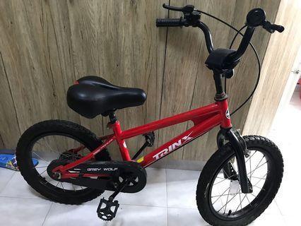 兒童單車 16寸輪軚
