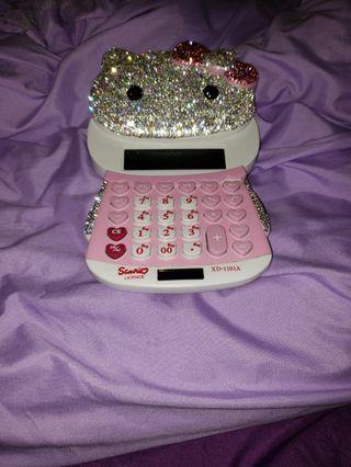 Hello Kitty Swarovski 計算機