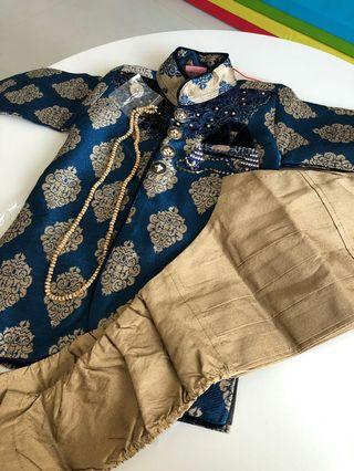 Indian kurta and churidaar for kids