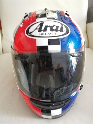 Used Arai RX7 Haslam Size S