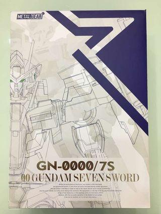 MC Gundam OO GN 0000/7S 高達oo 7劍 seven sword