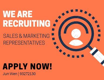 Sales Representatives.*No Experience Required*