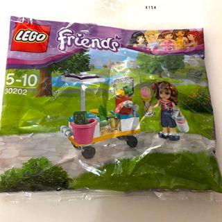 🚚 Lego Friends Polybag -Smoothie Stand Set 30202