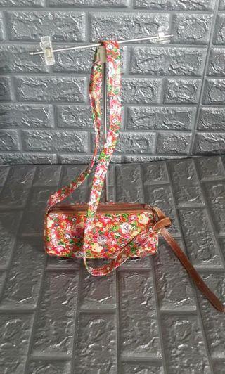 flowers slingbag