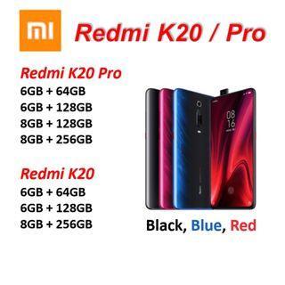 Redmi K20 Pro and K20 Xiaomi