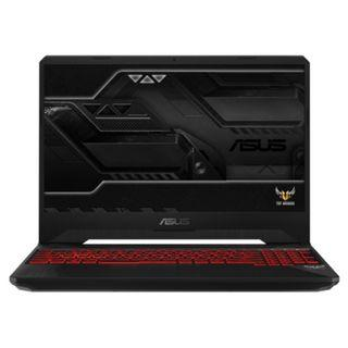 Asus TUF GAMING FX505G-EBQ242T : I7-8750H 9MB cache, up to 3.9Ghz, 8GB RAM DDR4 2666MHz, 1TB HDD 7200RPM + PCIE 128GB M.2 SSD, NVIDIA GTX 1050Ti 4GB DDR5, 15.6-inch, FHD , 2 years Global warranty, free asus tuf gaming backpack and softwares