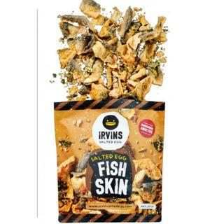 Irvins Salted Egg Fish Skin (Small)