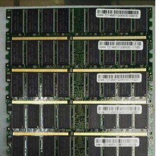 1GB DDR1 PC400 RAM (USED)