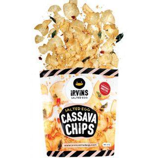 Irvins Salted Egg Cassava Chips (Large)