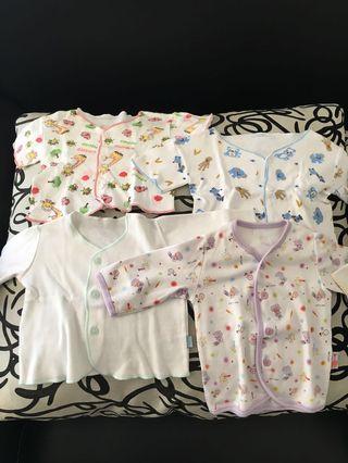 8 pcs baju bayi