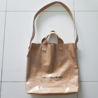 🚚 CDG Kraft Paper Tote Bag