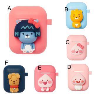 🖖左撇子代購✈️ KAKAO FRIENDS 官方正版 蘋果無線耳機保護套
