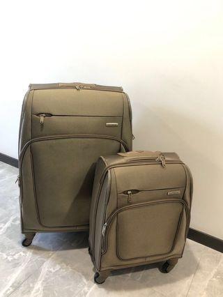 Luggage Set - Samsonite Gold
