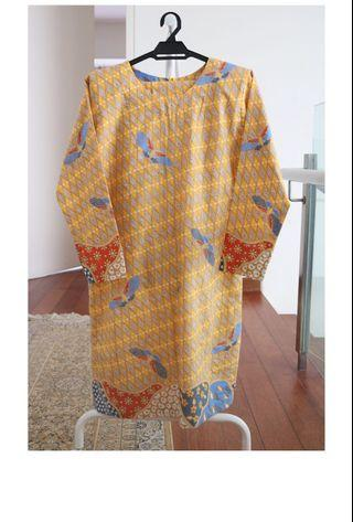 Batik Baju Kurung Traditional