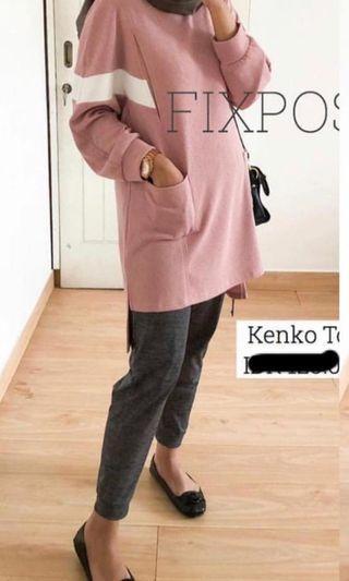 "Kenko Top ""Nude Pink"""