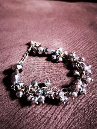 Women's Bracelet (Korean swarovski & fresh water pearl)