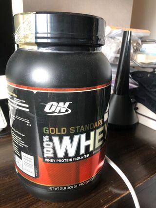 ON whey isolate protein 蛋白粉 健身 bcca