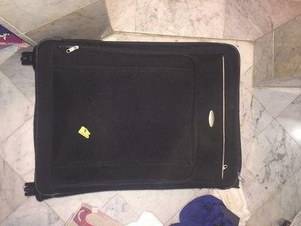 Koper samsonite asli ukuran besar hitam